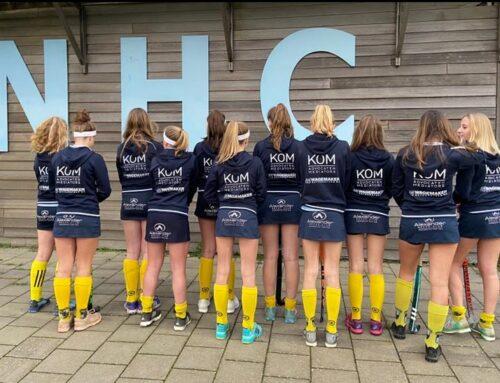 KOM Advocaten sponsort meiden Noordwijkse Hockey Club